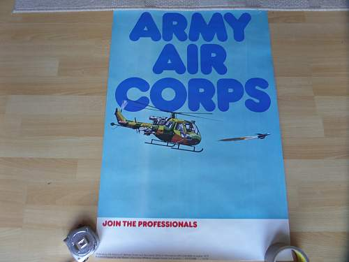 Picked up these two 1970s British Army recruiting posters