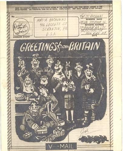 Seasons Greetings 1943 style