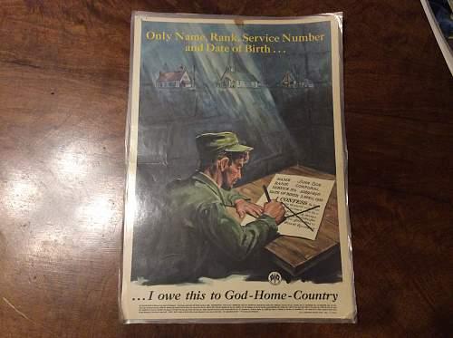 US Chaplain posters
