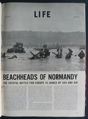 Slightly Out Of Focus bookshop - some of the best WW2 photographs in original magazines