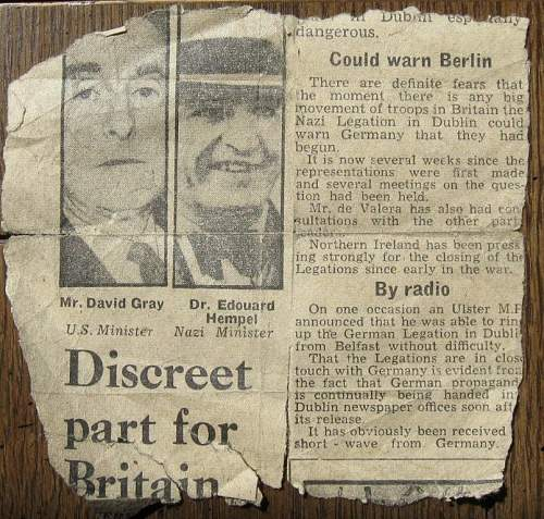 Newspaper Article..1942 ?