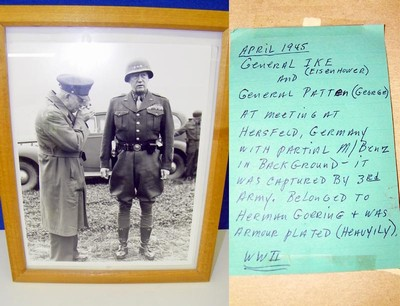 Photo of Ike and Patton.