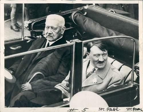 Hitler Press Photos