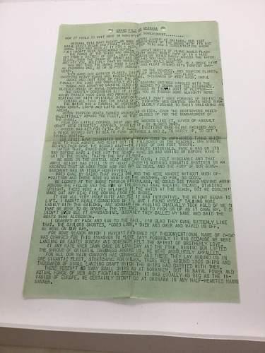 Okinawa piece written by Ernie Pyle?