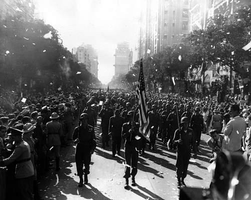 U.S. 10th Mountain Division in Brazil - 1945