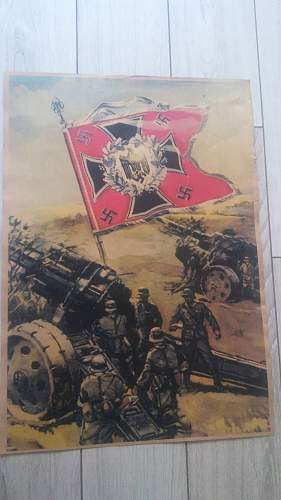third reich propaganda posters opinion about authenticity
