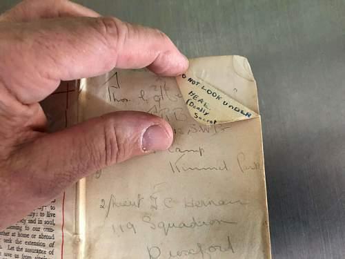 WW1 RFC  119 Sqdn at Duxford.