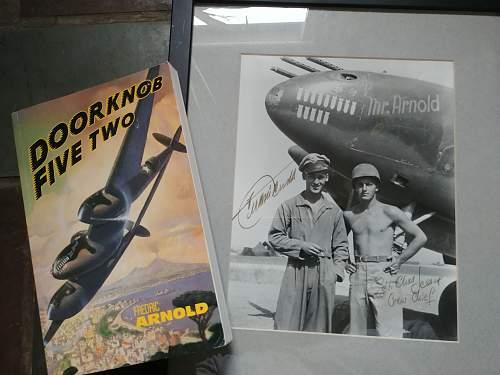 WWII US pilot Fredric Arnold
