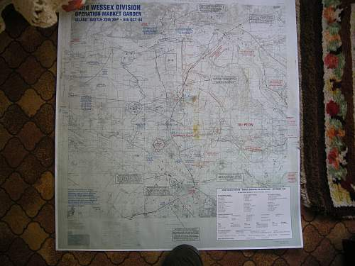 43 Div. Market Garden Map