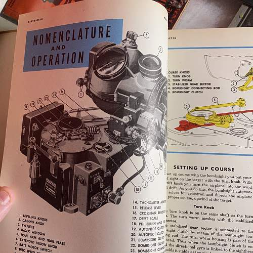 Original Bombers Information File/Norden Bombsight guide