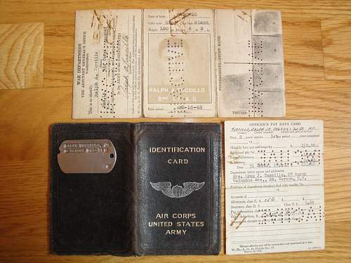 Grouping Id Documents US Air Corps