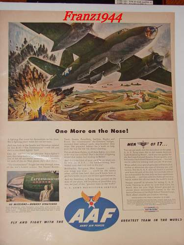 WWII US Recruitment poster?