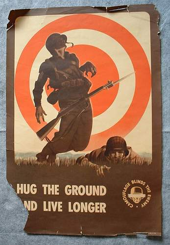 Camouflage Blinds the Enemy- 1943 U.S. training posters
