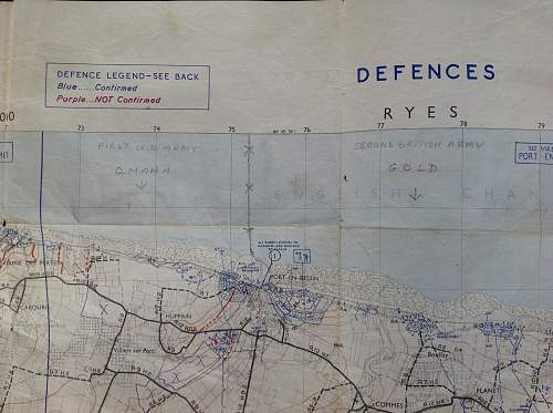 D Day Map of Normandy