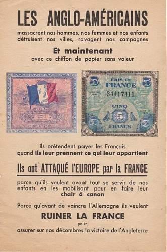 Propaganda Leaflets Collection