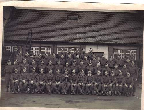 Can anyone place this picture to a British army barracks?