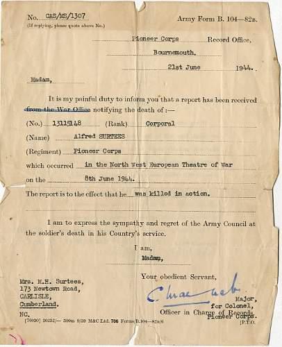 British WW2 casualty Paybooks