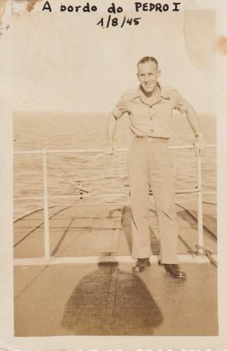 Photos of Brazilians in World War II