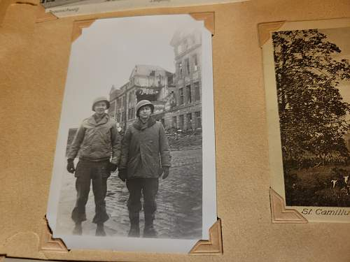 Local Vets bring back scrap book photos and post cards.  Warning: Graphic Photos.