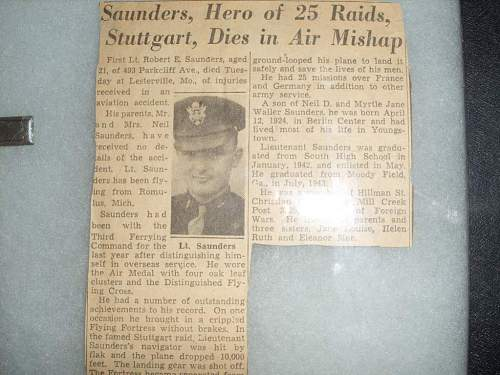 News paper clipping(of my Great Uncle)