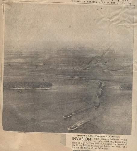US Navy SeaBees -My Grandpa's  Scrapbook