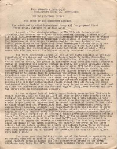 Click image for larger version.  Name:15th AAF presidential unit citation document..jpg Views:339 Size:255.1 KB ID:197085