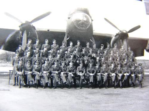 WW2 419 RCAF Moose Squadron (Lancaster Bomber) Flight Log