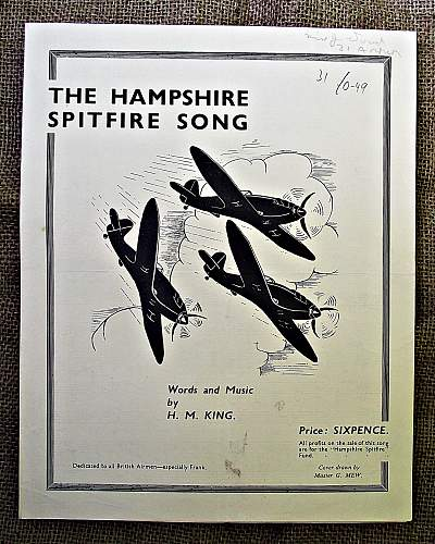 My WW2 British Sheet Music collection.
