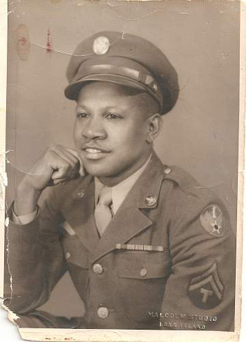 African American Soldier's Pic