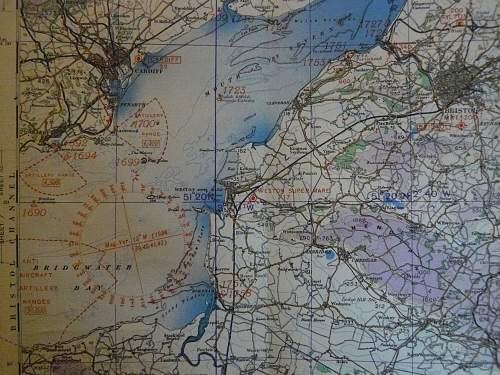 Royal air force edition map
