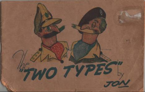 The two types by Jon, 8th army cartoon humour