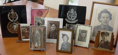 My ATS framed portrait photos