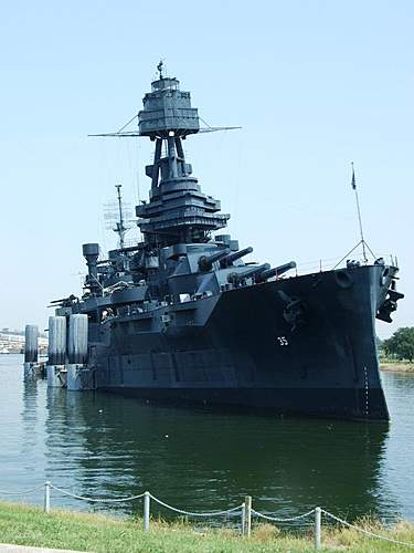 Click image for larger version.  Name:USS Texas ( 6 degree list ).jpg Views:449 Size:75.5 KB ID:363581