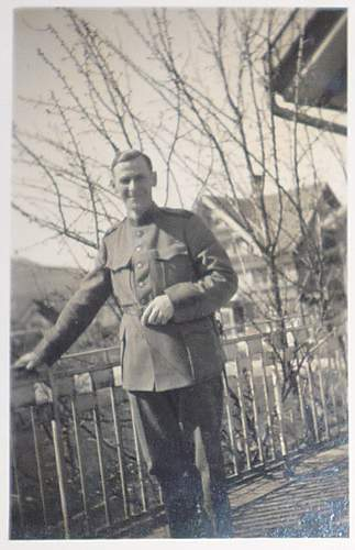 WW2 Swiss army photograph album (not technically allied forces I know!)