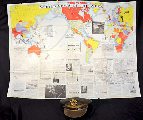 U.S. 1942 World News of The Week Poster (3'x4')