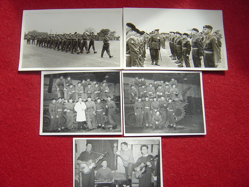 56th div card and REME photos