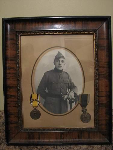 Belgian soldier portrait