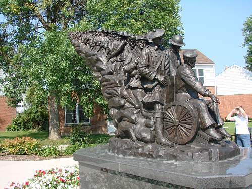 Anyone interested in Canadian war memorial pics?