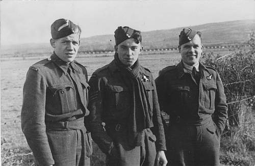 Click image for larger version.  Name:Air Gunner Student Ernest Loop - Miles Martinet pilot and Flight Sergeant Eddie Wise.jpg Views:505 Size:127.6 KB ID:414931