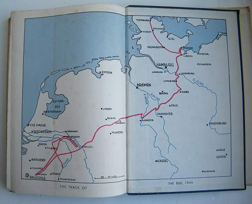 History of 11th Armoured Division, Tarus Pursuant 1945