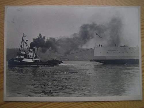 Click image for larger version.  Name:Stort foto med King George V a.jpg Views:325 Size:36.7 KB ID:418472