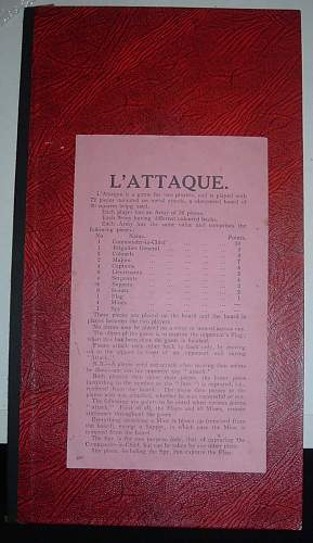 L' ATTAQUE - WW2 Brit. Army Game ?