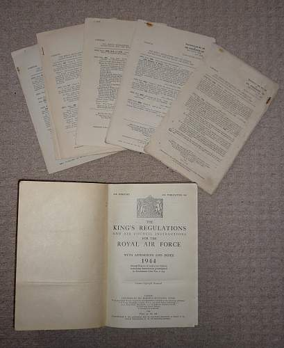 Kings regulations and air council instructions for the royal air force 1944