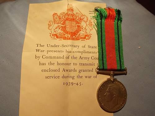 2 Medal Citations.