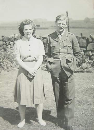 Husband & wife group: Army and SOE