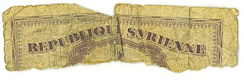 Click image for larger version.  Name:Syrian Banknote.jpg Views:115 Size:137.2 KB ID:49308