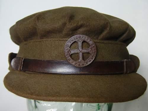 Click image for larger version.  Name:FANY Service dress cap. Original owner Elizabeth Munn SOE..jpg Views:151 Size:142.2 KB ID:49346