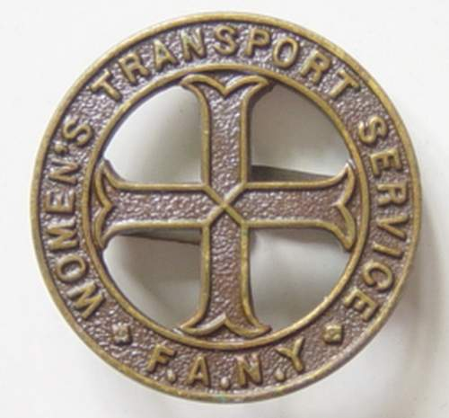 Click image for larger version.  Name:FANY cap badge of Elizabeth Munn..jpg Views:281 Size:190.4 KB ID:49351