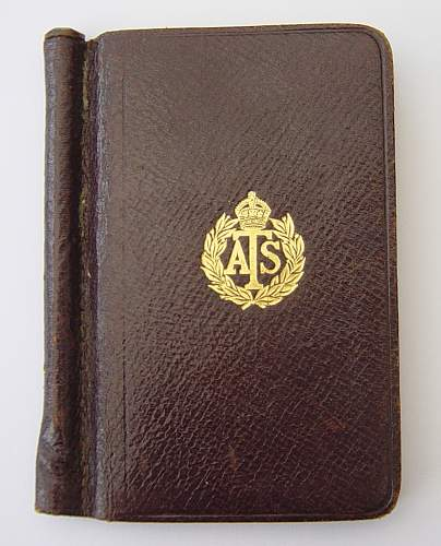 1942 ATS diary