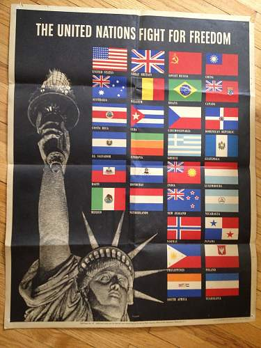 1942 Allied poster